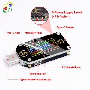 Image 4 - RD TC66/TC66C  Type C PD trigger  USB C Voltmeter ammeter voltage 2 way current meter multimeter PD charger battery USB Tester