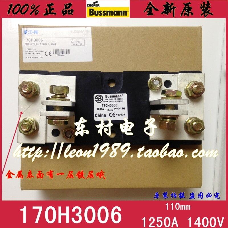 [SA] Eaton EATON BUSSMANN porte-fusible 170H3006 1250A 1400 V porte-fusibles
