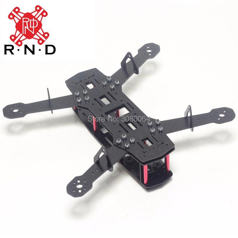 Nuevo Quad marco pura fibra de carbono Quadcopter kit QAV250 Drone ...