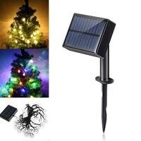 Smuxi Wasserdichte 6,5 Mt Außen Solar Power 30 LED Kristall Ball Solar String Licht Hochzeit Weihnachtsfeier Lampe Hof Dekor