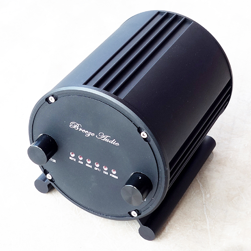 Breeze Audio A100 AK4490EQ  TPA3116 Coaxial / Fiber / USB / RCA Input audio amplifier PCM2706 or XMOS 50WX2