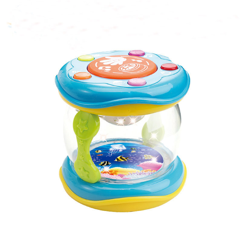 Mini Magic Hand Drum Baby Toy with LED & Music 14