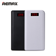 Remax 30000mAh Power Bank 2USB LED External Portable Battery Charger For iPhone 6 6 Plus 5s 5c For S5 S4 S3 Note 4 3 For Xiaomi