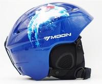 MOON Ski Helmet Kids Adult Skiing Snowboard Helmet Integrally Molded Ultralight Ski Helmets Christamas Gifts For