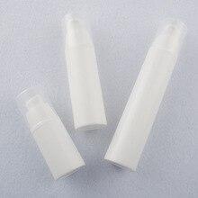 2pcs 15/30/50ML PP white vacuum bottle Buckle type emulsion Essence wholesale BQ063