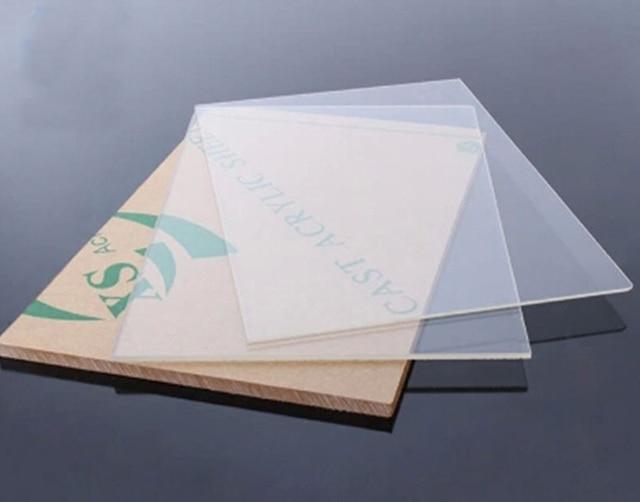 2 mm * 200 mm * 200 mm placa de plástico Sheet transparente de ...