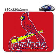 HOT SALES Custom Antiskid 3 D St Louis Cardinals Logo 220 X180x2mm Office Accessory Tablet And Mini Pc Mouse Pad As  Gift