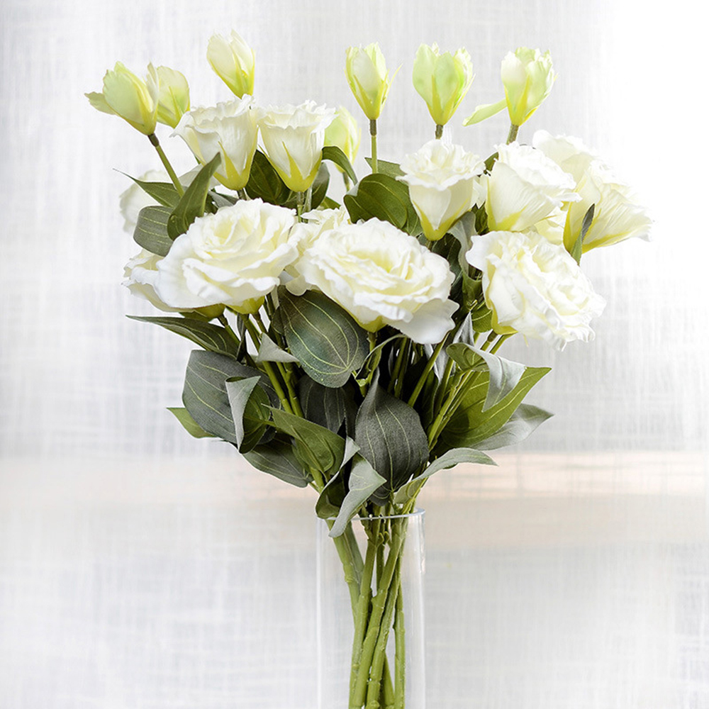 White Artificial Flowers Wholesale Bellflower Flower Home