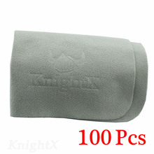 KnightX 100 adet telefon ekran kamera lensi filtre gözlük kare temizlik ekran bezleri gri D5200 D5300 D5500 D3300