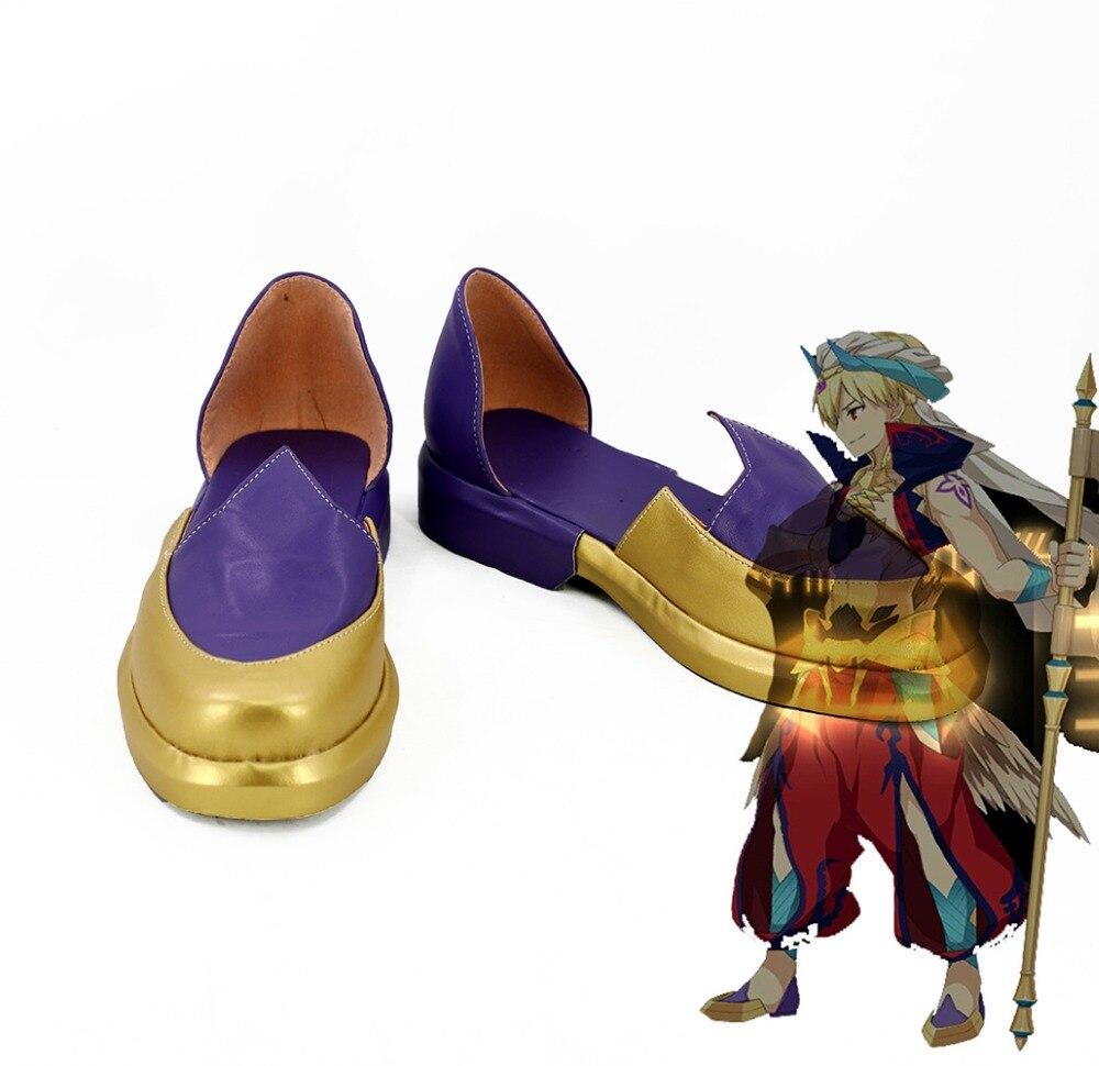 Fate Grand Auftrag Caster Gilgamesh Cosplay Schuhe Stiefel FGO Cosplay Nach Maß-in Schuhe aus Neuheiten und Spezialanwendung bei AliExpress - 11.11_Doppel-11Tag der Singles 1