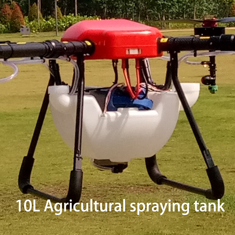 DIY 10kg 10L agricultural spraying tank pesticide spraying pot for Agriculture UAV drone pesticide spraying pump flow rate adjustable remote switch 25a current for diy agricultural multi rotor uav drones