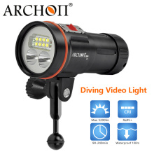 DHL ARCHON D37VP 100M Underwater white red uv LED Diving Light Flashlight Torch 5200 Lumens archon d35vp w41vp underwater photographing light underwater diving fashlight video torch with battery and charger 100% original