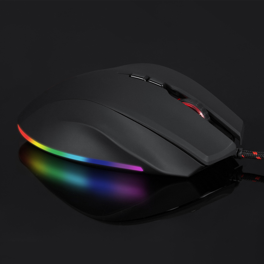 Image 4 - Professional 5000DPI Gaming Mouse USB Wired Optical Mice RGB Backlit for PC Laptop NK Shopping-in Mice from Computer & Office