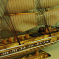 "1pcs Gifts & Decor 32"" handmade sailing boat Detailed Wooden Model Nautical Decor via EMS shipping."