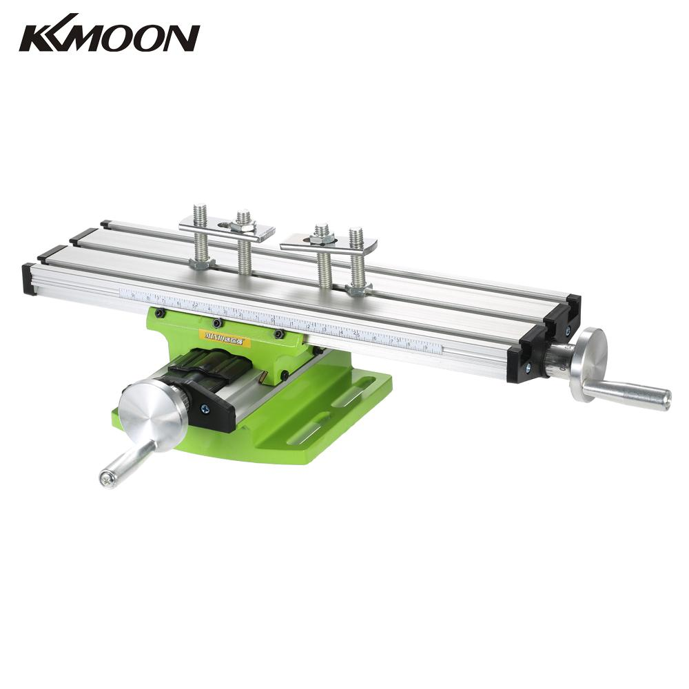 New Compound Bench Drilling Slide Table Worktable Milling Working Cross Table Milling Vise Machine for Bench