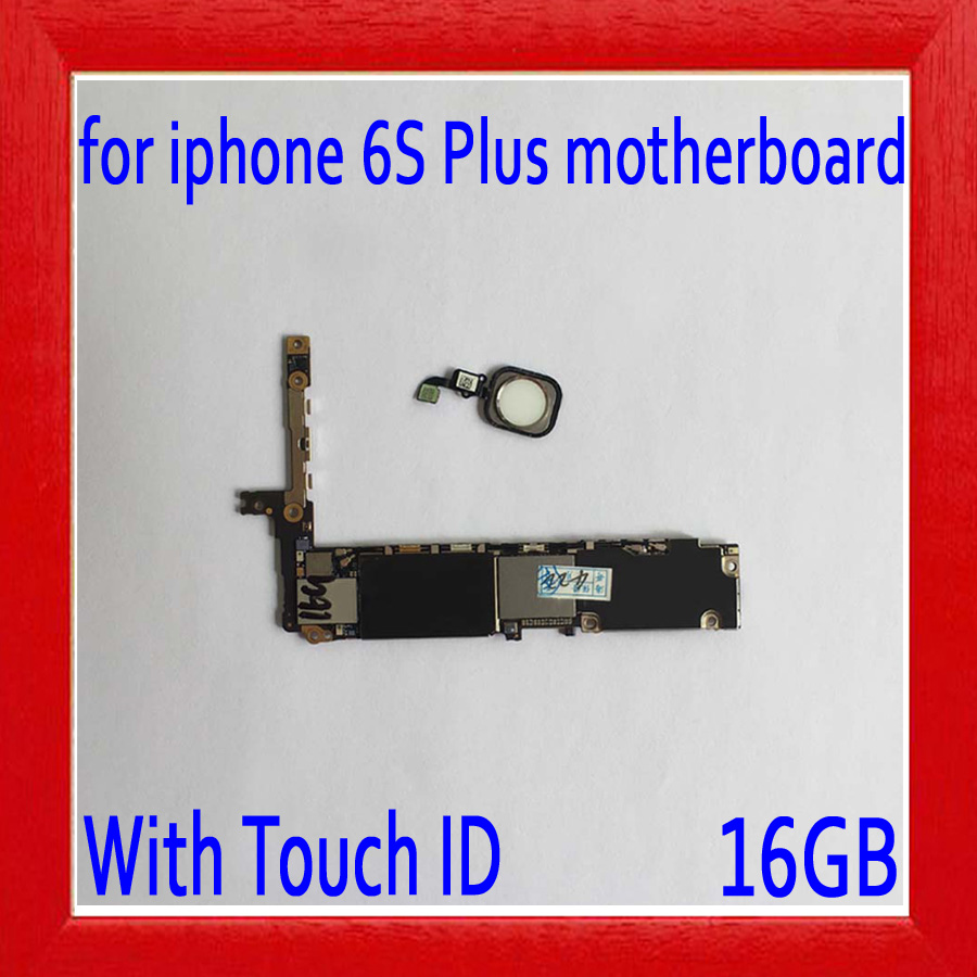 16gb White for iphone 6s plus Motherboard with Touch ID,Original unlocked for iphone 6s plus Mainboard with Chips,Good Tested16gb White for iphone 6s plus Motherboard with Touch ID,Original unlocked for iphone 6s plus Mainboard with Chips,Good Tested