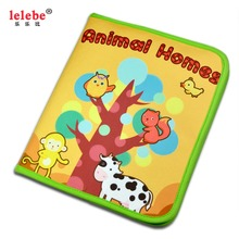 baby book toys educational Children's toys Animal home book Animal cognition  lelebe animal sticker book