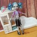 Оптовая Подлинная мода дети bjd Куклы Аксессуары американские Девушки Подарок куклу одежды случайные костюм Для Оригинала Monster High Куклы