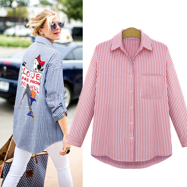 feafe801aed16 Plus Size Women Blouses Shirts 5xl Chiffon Blouses Cardigan Turn-down  Collar Full Sleeves Printed