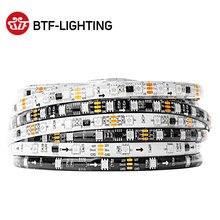 5 メートルWS2811 ledストリップDC12V超高輝度高効率 5050 smd rgb ledハイライトアドレス可能 30/48/60leds/mホワイト/ブラックpcb