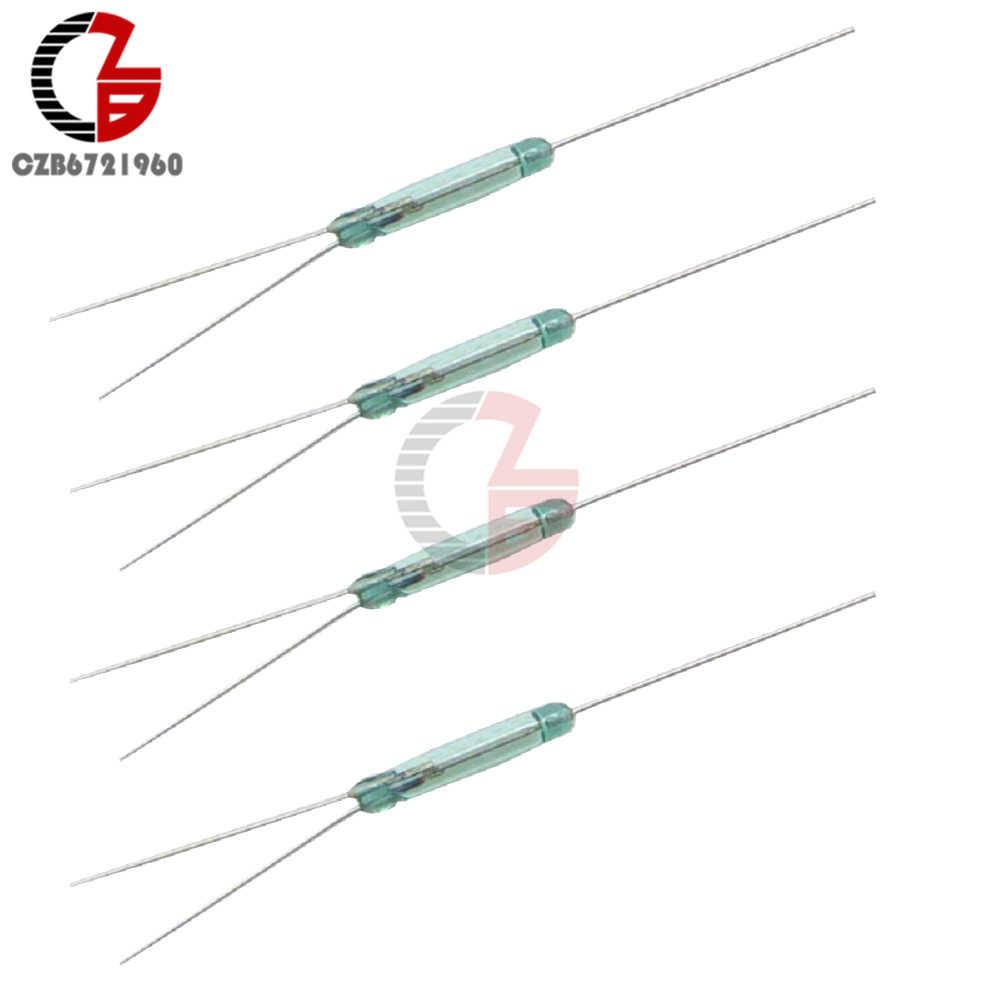 5 шт. геркон 3 pin магнитный переключатель обычно открытым и нормально закрытый преобразования 2,5X14 мм