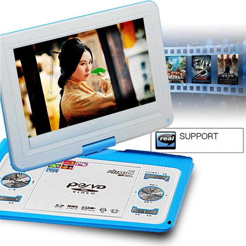 HD veliki ekran 14-inčni video DVD player Prijenosni DVD Podrška - Kućni audio i video - Foto 4