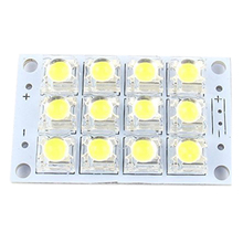 Brand New DC 3V 5V 12 LED Super Bright White Piranha Circuit Board Lights Light Yacht