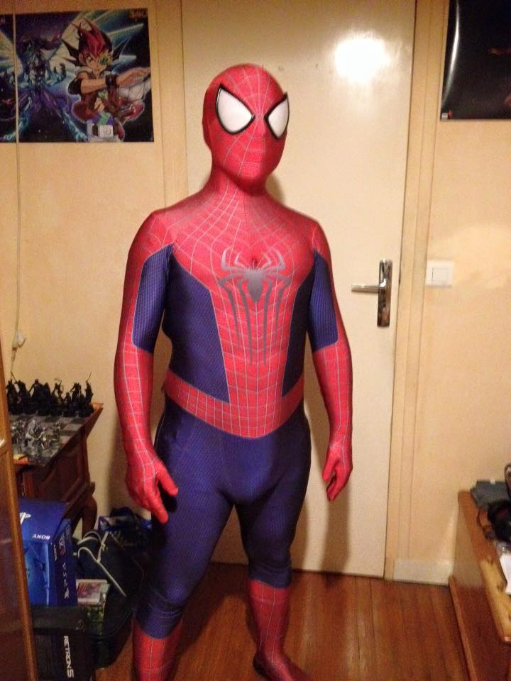 Spiderman costume 2 years
