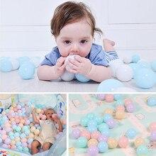 100Pcs Baby Antistress Ocean Balls Kids Plastic Stress Ball Bola Orbs Dry Pool Ball Pit Game Toys For Children Ballenbak Dia 7cm