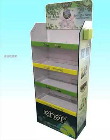 Custom Design Layers Printed Logo Cardboard Display Stand For Supermarket/store/exhibition