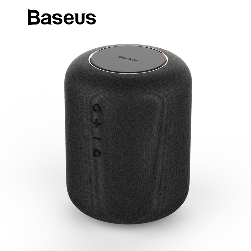 Baseus E50 24 W Altavoz Bluetooth inalámbrico con función de cargador inalámbrico Qi altavoz para iPhone X Samsung Xiaomi Huawei