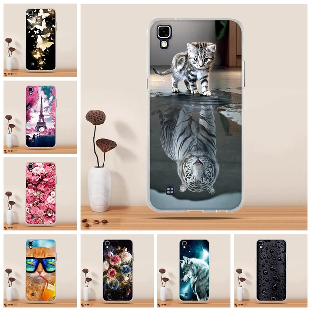 sports shoes cbe7f dd41d US $1.02 7% OFF|For LG X Power Case Cover Silicone Cover Case for LG X  Power K220ds K220 LS755 Cover Coque for LG X Power 5.3