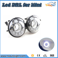 2 Pieces LED Daytime Running Light Lamp For Mini Cooper DRL Waterproof 12V R55 R56 R57