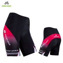 ZEROBIKE Women's Quick Dry Breathable Gel 3D Padded MTB Bike Shorts Lightweight Bicycle Cycling Clothing bermuda ciclismo(China)