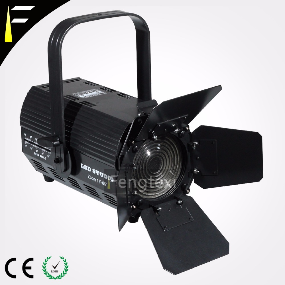 ETC Source Four 65 Degree LED Profile Spot Light 200w RGBW 4in1 3200K/6500K Diming Strobe Profile Spots ellipsoidals for Studio