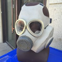 Surplus China Military Army Type 65 Gas Mask Black Rubber Material