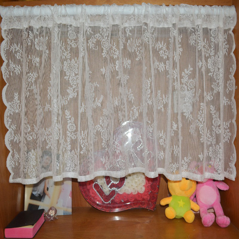 Lace Curtains Kitchen Curtains American Style Pastoral Cafe Shop Curtain  Door Curtain