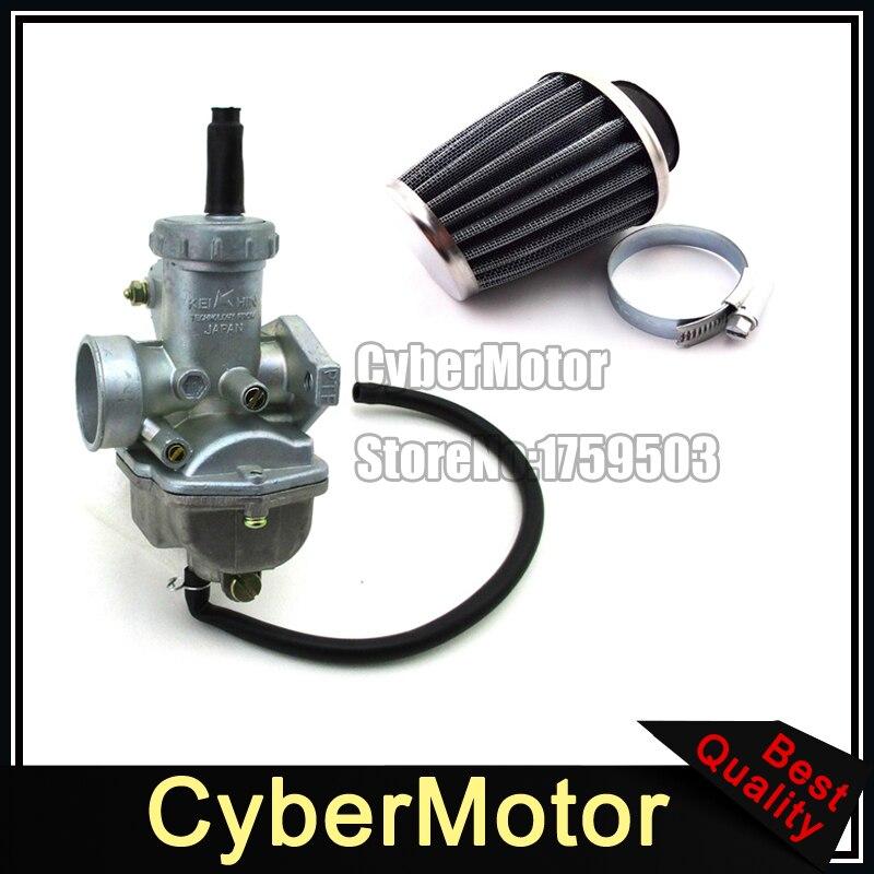 Pz16 carb 16 мм Карбюраторы для мотоциклов 35 мм воздушный фильтр clearner для 50cc 70cc 90cc 110cc Двигатели для автомобиля ATV QUAD Грязь Яма trail Двигатель велоси...