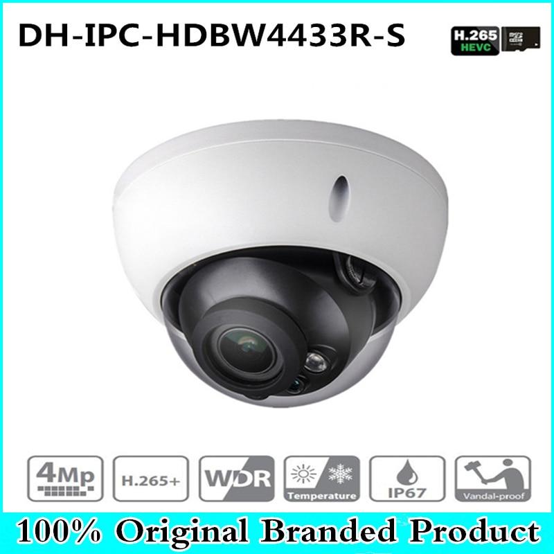 DH Original 4MP IPC-HDBW4433R-S replace IPC-HDBW4431R IP Camera HD Network IR cctv Dome IP CCTV Camera POE DH-IPC-HDBW4433R-S цена