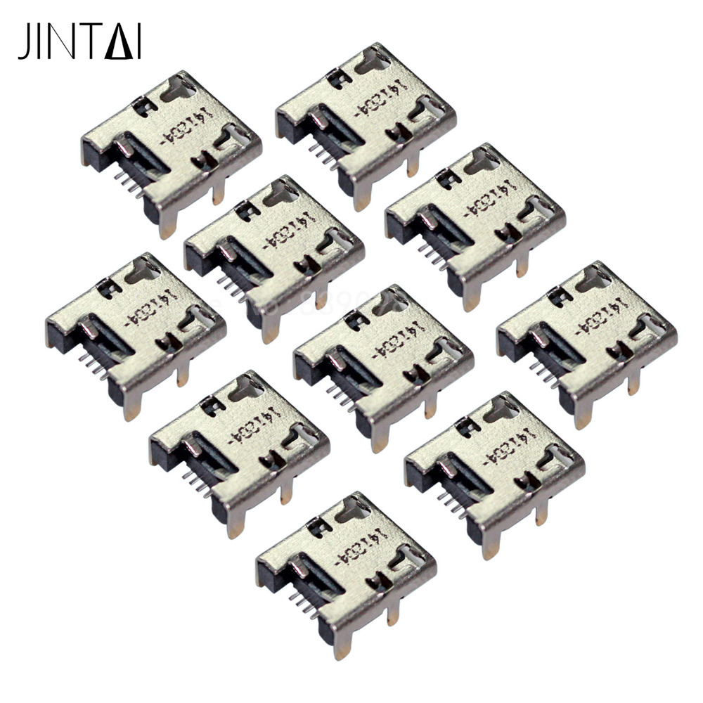 Jintai Lot of Micro USB DC Charging Socket Port Connector REPLACEMENT FOR ACER ICONIA A3-A10 B1-720 B1-710 B1-711 B1-A71 B1 A7 10 100 pieces lot oem dock micro usb jack socket connector charger charging port for samsung galaxy tab 3 7 0 sm t210 sm t211