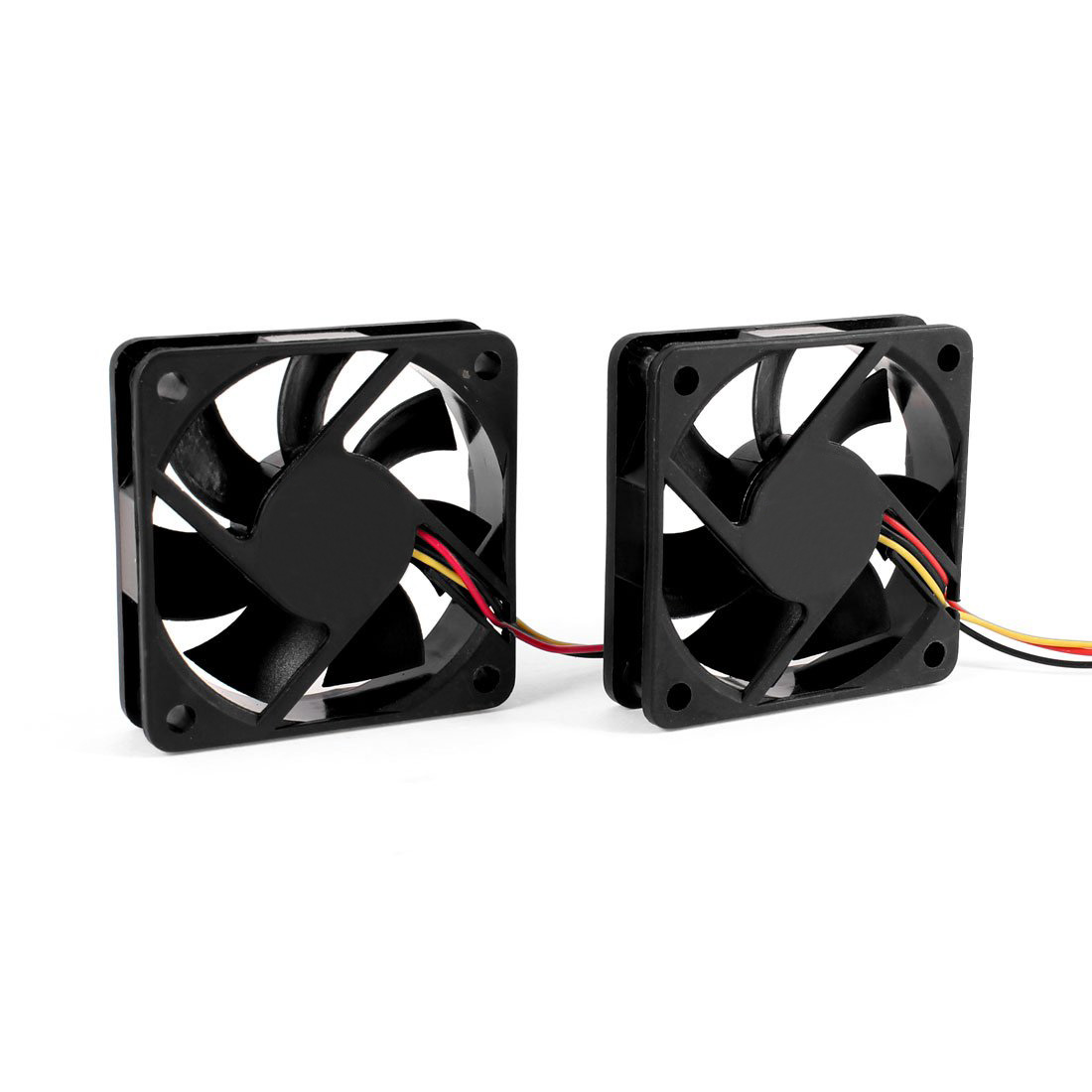 PROMOTION! Hot 2 PCS 60mm 6cm DC 12V 3 Pin Computer Case CPU Cooler Cooling Fan Black 2200rpm cpu quiet fan cooler cooling heatsink for intel lga775 1155 amd am2 3 l059 new hot