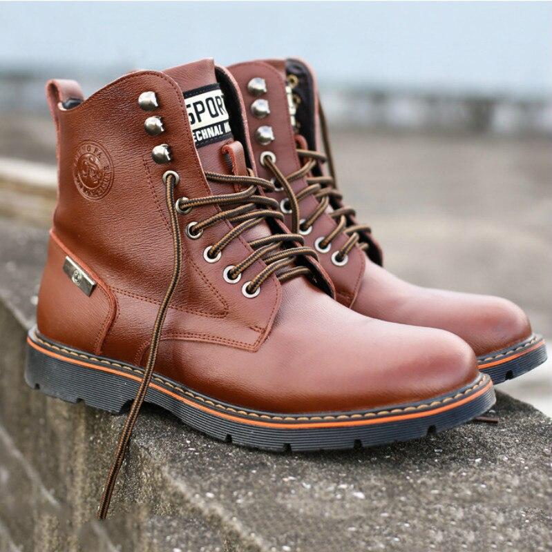 2019 ฤดูหนาวรองเท้าผู้ชายผู้ชายสบายๆ plus กำมะหยี่รองเท้ายุโรปสหรัฐอเมริกาชายรองเท้าแฟชั่นรองเท้าทหาร. บน AliExpress - 11.11_สิบเอ็ด สิบเอ็ดวันคนโสด 1