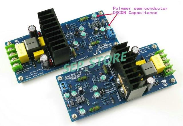 LJM- Hi-end  L25D  Stero Audio Power amplifier board  IRS2092 IRFB4020PBF 250W 8ohm (Assembled Amp board,include 2 bobards)