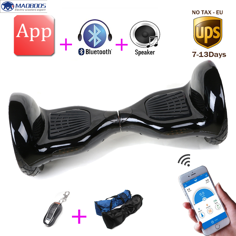 Hoverboard app Smart self balancing electric skateboard unicycle balance scooter standing drift hover board