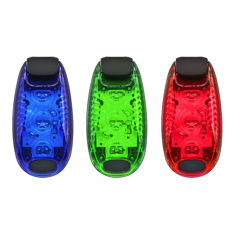 Multi-function LED Safety Light Clip On Running Lights For Runner, Kids, Joggers, Bike, Dogs Nighttime Bicycle Cycling Taillight