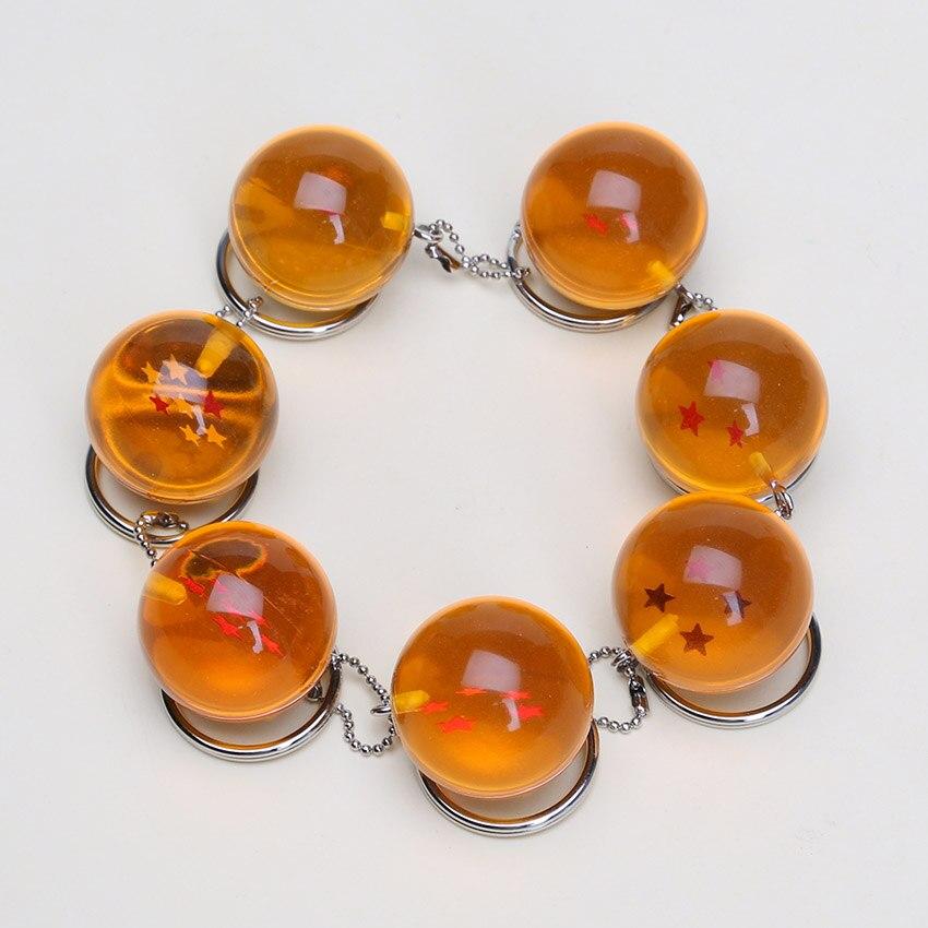 5set 7pcs set 2 5cm New In Ba Dragon Ball Z 7 Stars Crystal Balls PVC
