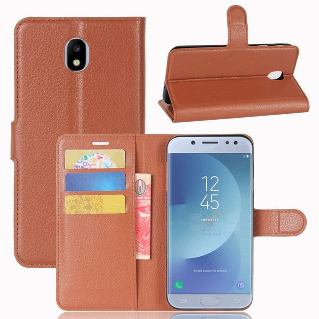 new concept b75f0 92839 US $4.25  Case For Samsung Galaxy J3 2017 Case Flip EU Eurasian Edition PU  Leather Cover For Galaxy J3 2017 Case For Samsung J3 2017 Case-in Flip ...