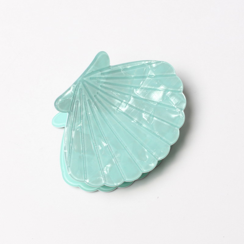 Shell Fan Shape Acrylic Hair Claws Beam Hairpin Women Hair Accessories Beauty Hair Crab   Headwear   Girl Hair Clip