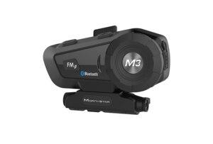 Image 5 - Helm Bluetooth Headset Motorrad Mornystar M3 Plus Multi funktionale Stereo Kopfhörer Für Zwei Zwei wege raido Easy Rider Serie