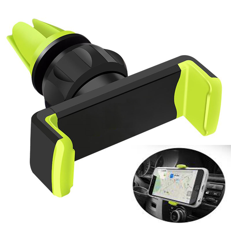 NCR18650B Car Phone Holder For iPhone X 8 7 6 Samsung 360 Degree Soporte Movil Mobile Phone Holder Car-Styling Air Vent Holder